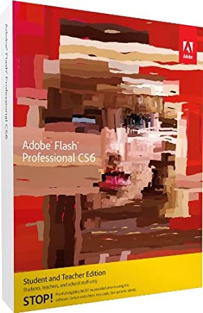 Adobe Flash Pro CS6 Student and Teacher Edition Mac