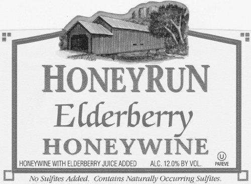 Nv Honeyrun Winery Dry Elderberry Honeywine 750 Ml