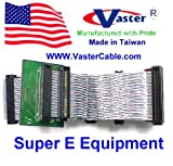 Vaster 20488-22, Ultra Wide a2 LVD 80 M/bs SCSI Ribbon Cable 2 Drive with LVD Terminator