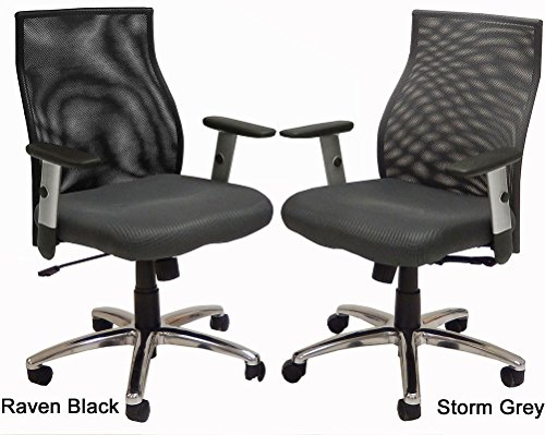 Ergo Vibrant Office Seating - Raven Black