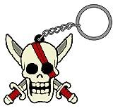 ワンピース 赤髪海賊団ラバーキーホルダー