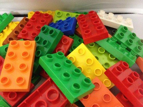 Lego Duplo 10 Stück Flache bausteine Bauplatte
