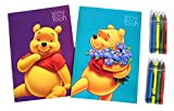 Disney's Winnie the Pooh Coloring Booklet and Crayons 8x5.5 (2 Booklets at Random)