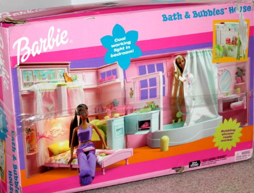 Barbie Bath & Bubbles House With Working Light & Shower front-1051149