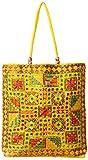 Craftshraft Women's Shoulder Bag (craft-62, Yellow)