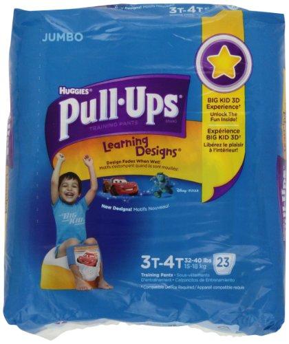 PULL-UPS BOYS TRAINING PANTS, 3T/4T