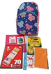School Supplies Bundle Box For Girls First Grade Through Fourth