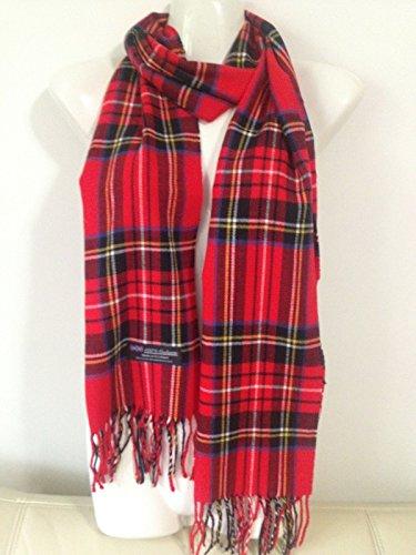 100-cashmere-scarf-plaid-design-red-made-in-scotland-super-soft
