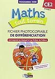 Maths tout terrain CE2  Fichier photocopiable de différenciation