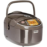 Zojirushi NP-NVC18 Induction Heating Pressure Cooker (Uncooked) and Warmer, 10 Cups/1.8-Liter
