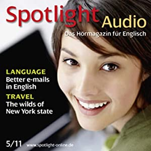 Spotlight Audio - Better e-mails in English. 5/2011 Hörbuch