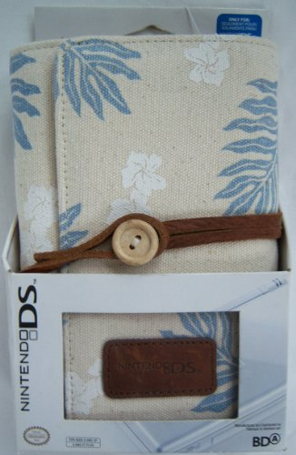 Nintendo DS Lite Natural Cotton Organizer - Hawaiian - 1