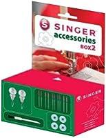 Singer 292118 Box 2 Boite d'Accessoires Couture pour Machine à Coudre