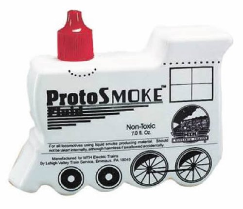 MTH Trains ProtoSmoke Fluid, Woodburning 7oz MTH601049 (Model Train Smoke compare prices)