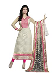 DivyaEmporio Women's Salwar Suit Dupatta Unstitched Dress Material (Free Size)