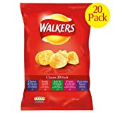 Walkers Variety Pack Crisps 3x20x25g