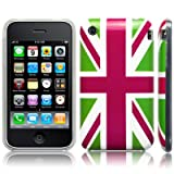 iPhone 3GS / 3G 'Cool Britannia Green' (Designed by Creative Eleven) TPU Gel Skin / Case / Cover Part Of The Qubits Accessories Rangeby Qubits