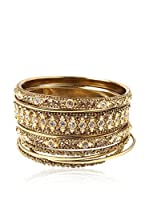 Amrita Singh Brazalete Keya Bangle Set Gold