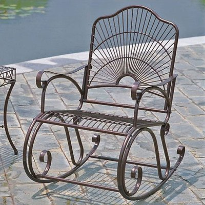 Metal Outdoor Chairs 1676