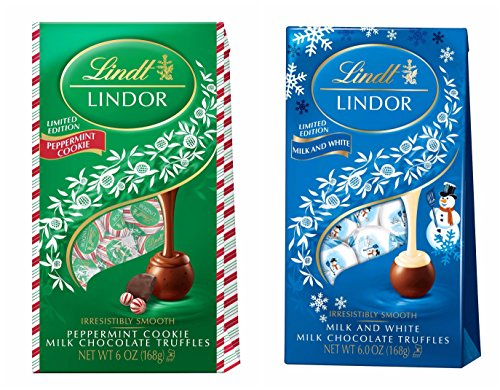 lindt-lindor-limited-edition-milk-and-white-truffles-and-peppermint-cookie-truffles-holiday-edition