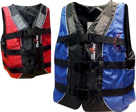 TBF 50n Buoyancy Aid - ADULT - lifejacket from Mikes Diving, RED, L