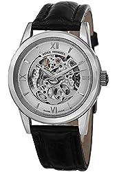Revue Thommen Skeleton Men's Silver Open Dial Automatic Swiss Watch 12110.2532