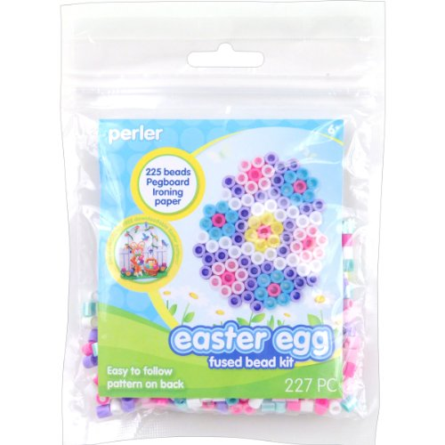 Perler Beads Fused Bead Kit, Easter Egg