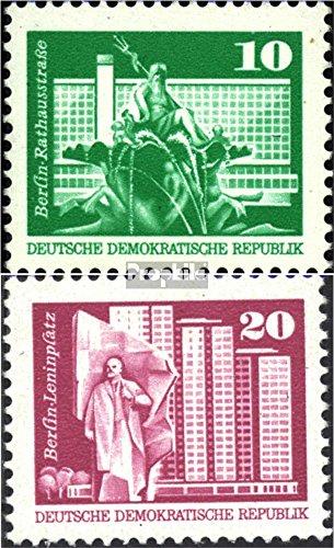 DDR 1868-1869 (kompl.Ausgabe) postfrisch 1973 Bauwerke (Briefmarken für Sammler)