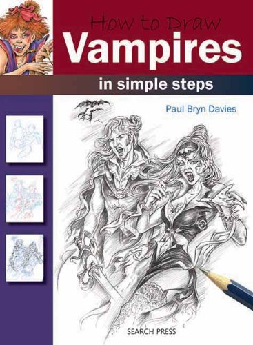 How to Draw Vampires in Simple Steps