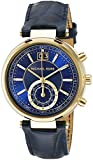 Michael Kors Women's MK2425 Sawyer Stainless Steel Watch With Blue Leather Band
