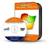 "NEW TOTALCOMPLETE Re INSTALL Repair Restore WINDOWS 7 ""STARTER"" Edition 32/64 bit Premium PC Laptop Computer DVD CD Disc Disk"