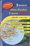 echange, troc Collectif Michelin - Atlas routier et touristique France format boîte à gants : 1/200 000