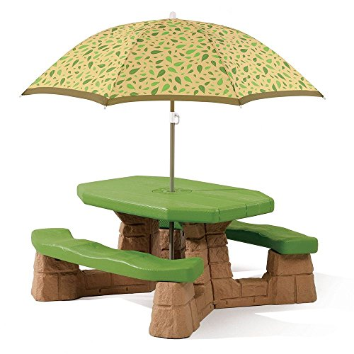 Find Bargain Step2  Naturally Playful Picnic Table with Umbrella