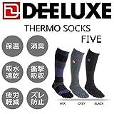 14-15 DEELUXE【ディーラックス】 サーモソックス FIVE [5本指] (MIX, L_26-28cm)