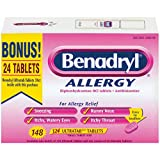Benadryl Allergy Ultratabs - 148 tablets