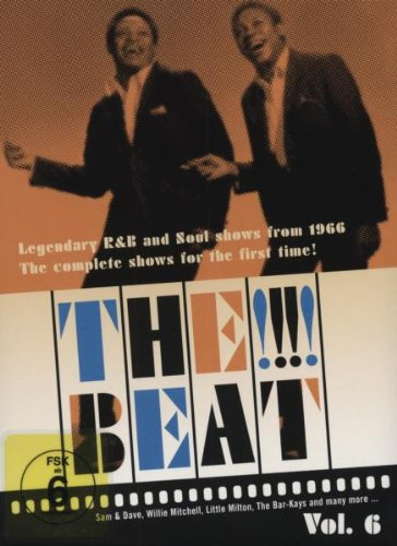 Cover art for  The !!!! Beat: Legendary R&B and Soul Shows From 1966, Vol. 6 (Shows 22-26)