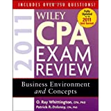 Wiley CPA Exam Review 2011, Business Environment and Concepts (Wiley CPA Examination Review: Business Environment & Concepts) ~ Patrick R. Delaney