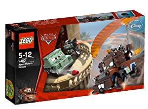 LEGO Cars 9483: Agent Mater's Escape