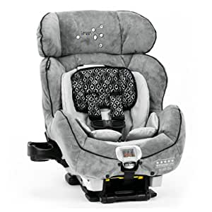 Lamaze C670 True Fit Premier Convertible Car Seat, Gray/Black