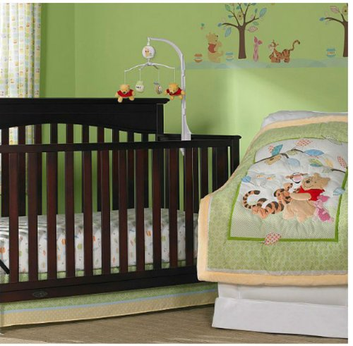 Winnie the Pooh & Friends 3-piece Crib Bedding Set