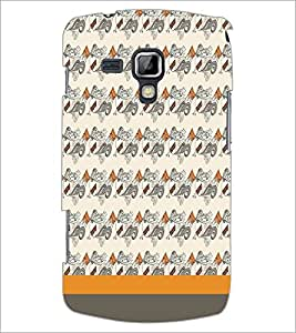 PrintDhaba Pattern D-1862 Back Case Cover for SAMSUNG GALAXY S DUOS 2 S7582 (Multi-Coloured)