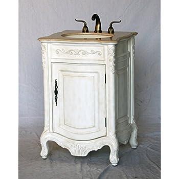 24-Inch Antique Style Single Sink Bathroom Vanity Model 2232-AW