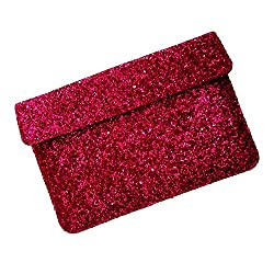 i-KitPit : PU Glitter Sparkling Leather Pouch Case For Lenovo Thinkpad 2