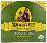Newmans OwnOrganics Royal Tea, Organic Green Tea, 100-Count Individually Wrapped Tea Bags (Pack of 5)