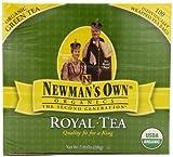 Newmans OwnOrganics Royal Tea, Organic Green Tea, 100-Count Individually Wrapped Tea Bags (Pack of 5)