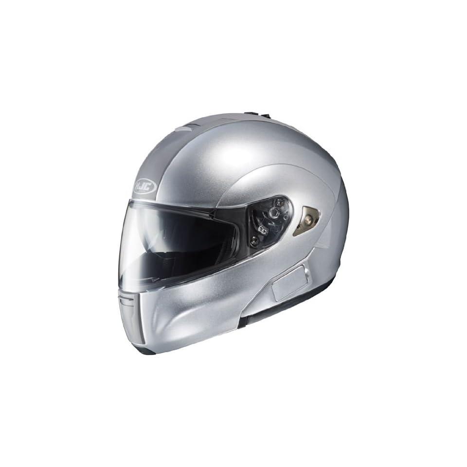 HJC IS Max BT Silver Full Face Helmet (3XL)
