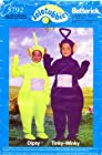 Butterick 5792 Sewing Pattern Childrens Tinky Wink Dipsy Teletubbies Costumes Size 2 - 6X