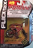 Flick Trix Toy Collectable - Die Cast Bomber Bikes - Haro Bike - Red and Black Paint