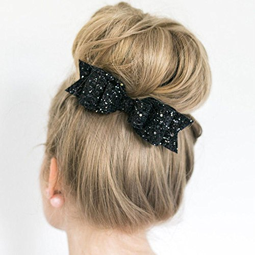 Happy-Hours-1-Pc-Women-and-Girl-Sequins-Bowknot-Hair-Clips