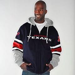 Houston Texans NFL G-III 1 on 1 Jersey Hooded Premium Sweatshirt by G-III Sports